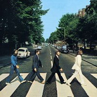 Abbey Road album front cover.
