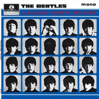 A Hard Day's Night album front cover.