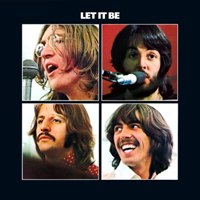 Let It Be album front cover.