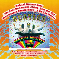 Magical Mystery Tour album front cover.