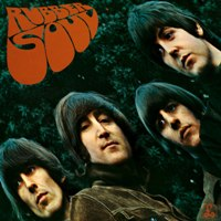 Rubber Soul album front cover.