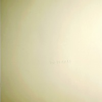 The Beatles [White Album] album front cover.