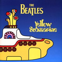 Yellow Submarine Soundtrack album front cover.
