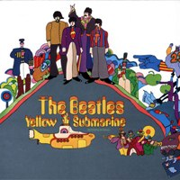 Yellow Submarine album front cover.